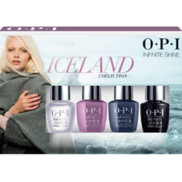 OPI INFINITE SHINE ICELAND COLLECTION PACK MINIS 4 UNIDADES